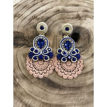 'Dali' Soutache Earrings