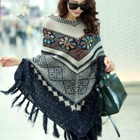 Hippie Poncho Sweater