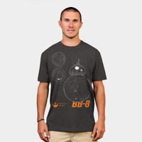 Astro Droid BB 8 T Shirt By StarWars Design By Humans