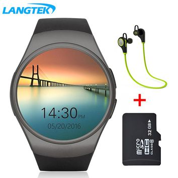 LANGTEK Smart Watch For iPhone Android With Camera