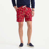 DOCK SHORT IN FLORAL BATIK