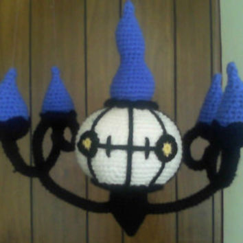 Amigurumi Chandelure - Made to Order