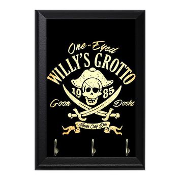 One Eye Willy Decorative Wall Plaque Key Holder Hanger