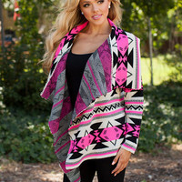 Structural Beauty Sweater Fuchsia