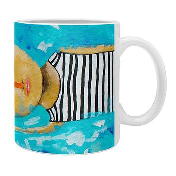 Robin Faye Gates Swimming Is Hard Coffee Mug