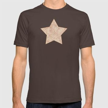 Iced coffee and white zentangles T-shirt by Savousepate
