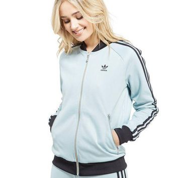 adidas Originals Supergirl Stripe Track Top Jacket