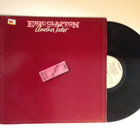 OCTOBER SALE Eric Clapton Another Ticket Rare UK Pressing Lp Album 1981 Classic Rock Rita Mae Vinyl Record