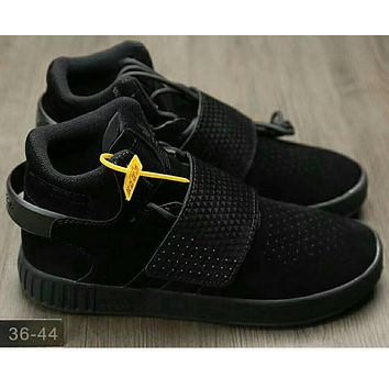 Adidas Originals Tubular Invader Strap Women Men Running Sport Casual Shoes Sneakers Black I-HAOXIE-ADXJ