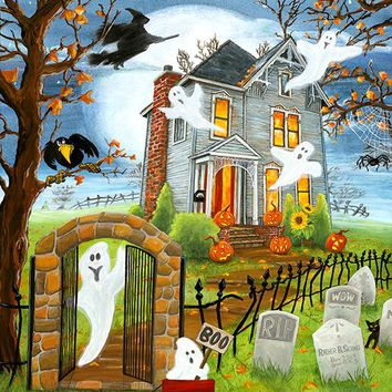 Haunted Haven 300pc Jigsaw Puzzle