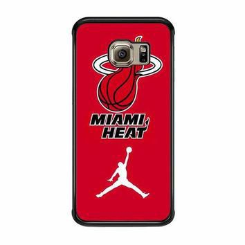 miami heat with nike jordan samsung galaxy s6 s6 edge s3 s4 s5 cases