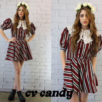 80s Vintage Dress / 1980s Mini Choon Dress / by CrushVintageCandy