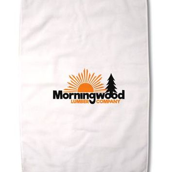 """Morningwood Company Funny Premium Cotton Sport Towel 16""""x25 by TooLoud"""