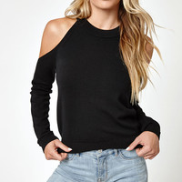 LA Hearts Cold Shoulder Sweatshirt at PacSun.com
