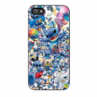 stitch disney collage cases for iphone se 5 5s 5c 4 4s 6 6s plus