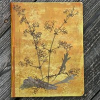 Galium and Artemisia - Mixed Media Nature Inspired Writing Journal