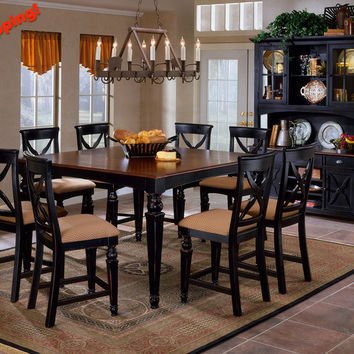 4439-835w-northern-heights-counter-height-dining-table - Free Shipping!