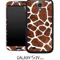Real Giraffe Skin for the Samsung Galaxy S4, S3, S2, Galaxy Note 1 or 2