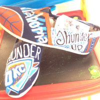 Custom Painted Oklahoma City Thunder Toms