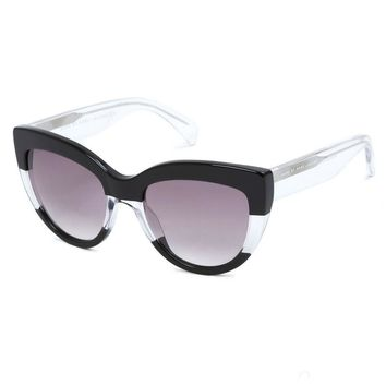 MARC BY MARC JACOBS COLORBLOCK CAT EYE SUNGLASSES