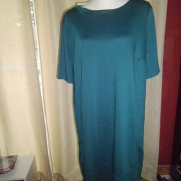 WOMAN'S JACLYN SMITH COLLECTION JADE DRESS SIZE XXL;ZIPPERED BACK