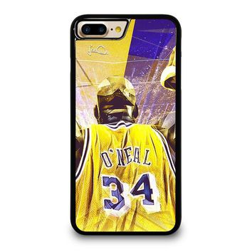 SHAQUILLE O'NEAL LA LAKERS iPhone 4/4S 5/5S/SE 5C 6/6S 7 8 Plus X Case