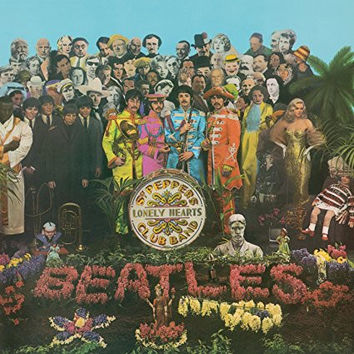 Beatles - Sgt. Pepper's Lonely Hearts Club Band (Mono) LP RE