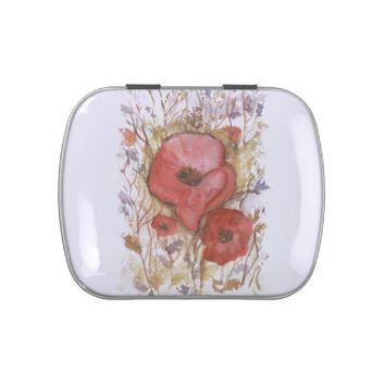 POPPIES JELLY BELLY CANDY TINS