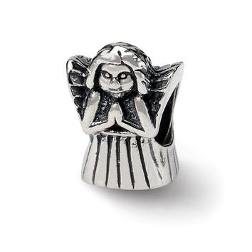 Sterling Silver Praying Angel Bead Charm