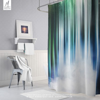 Dreamy Shower Curtain | Nature Art Bath Curtain | Colorful Shower Decor | Bohemain Bathroom Decor | Dorm Room Shower | Magical | Unique Gift