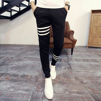 Autumn Men Pants Korean Casual Sportswear [6539648963]
