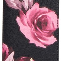kate spade new york 'hawthorne lane - roses' passport holder | Nordstrom