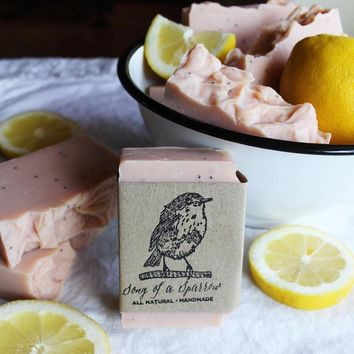 Song of a Sparrow - Pink Lemonade Handmade Soap