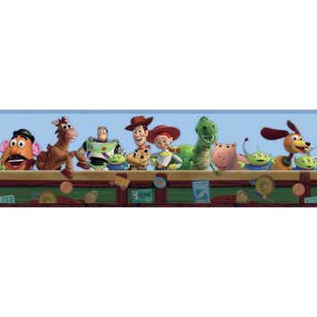 York Wallpaper DK5800BD Walt Disney Kids Ii Toy Chest Border