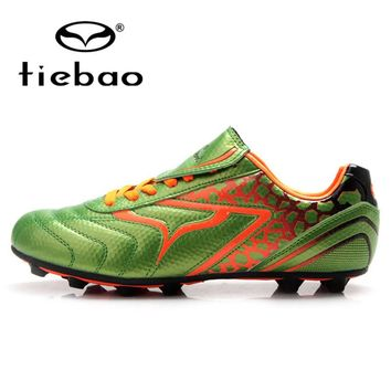 TIEBAO Professional FG & HG & AG Soles Children Kids Football Shoes Children Kids Football Soccer Cleats Boots