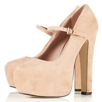 SHOWOFF Mega Platform Mary Janes - New In This Week  - New In