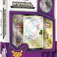 TCG: Mythical Pokemon Collection-Mew Card Game