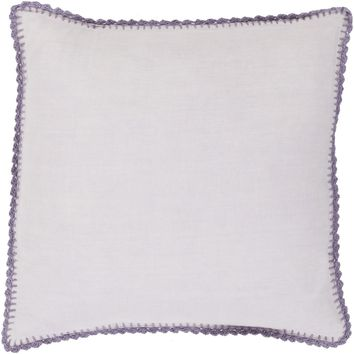Elsa Throw Pillow Purple, Purple