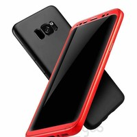 Soft Tpu Silicone Phone Case For Samsung Galaxy S8 S8 Plus Cover Case For Samsung S8 360 Full