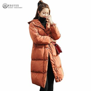 New Plus Size Winter Jacket Women Down Cotton Overcoat Thick Warm Quilted Coat Loose Casual Puffer Jacket Female Outweaer Okb379
