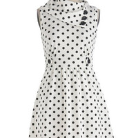 Coach Tour Dress in Dots | Mod Retro Vintage Dresses | ModCloth.com