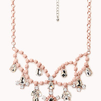 FOREVER 21 Sweet Elegance Bib Necklace