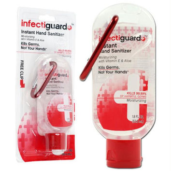 InfectiGuard  1.8 oz Hand Sanitizer with Carabiner