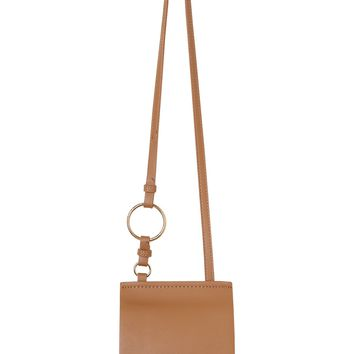 Tan Mini Saddle Bag