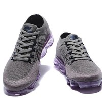 New 2018 Rainbow Vapormax Air Shoes Be True Men Woman Shock Running Shoes For Real Quality Fashion Men Casual Vapor Maxes Sports Sneakers - Ready Stock