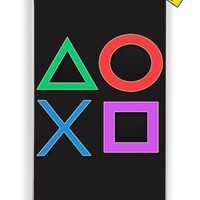 Playstation Controller Ps2 Ps3 for Iphone 4 / 4s Cover Rubber Case