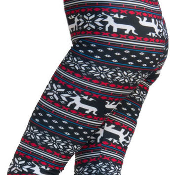 Best Leggings With Reindeer Products on Wanelo