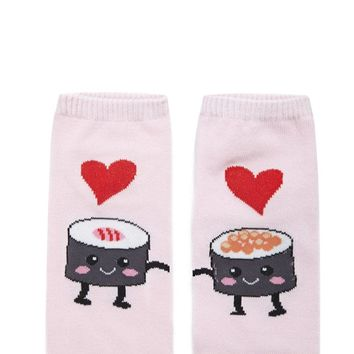 Sushi Love Ankle Socks