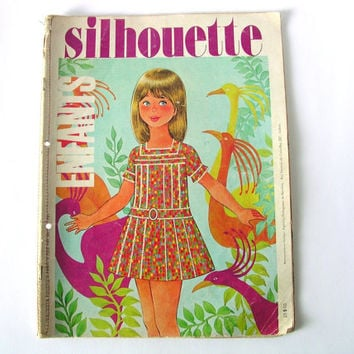 Fashion Magazine, Girl Fashion, Kids Clothing Design, Vintage, French Magazine
