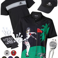 The Par 5 - Pin-High Men's Golf Bundle
